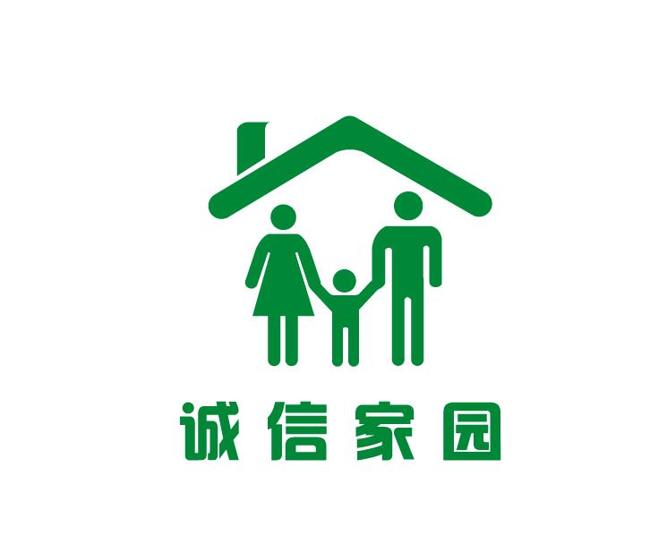 房地产logo设计(诚信家园)