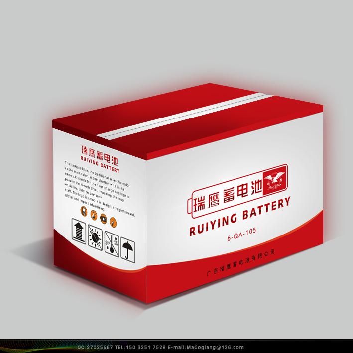 蓄电池外包装箱设计