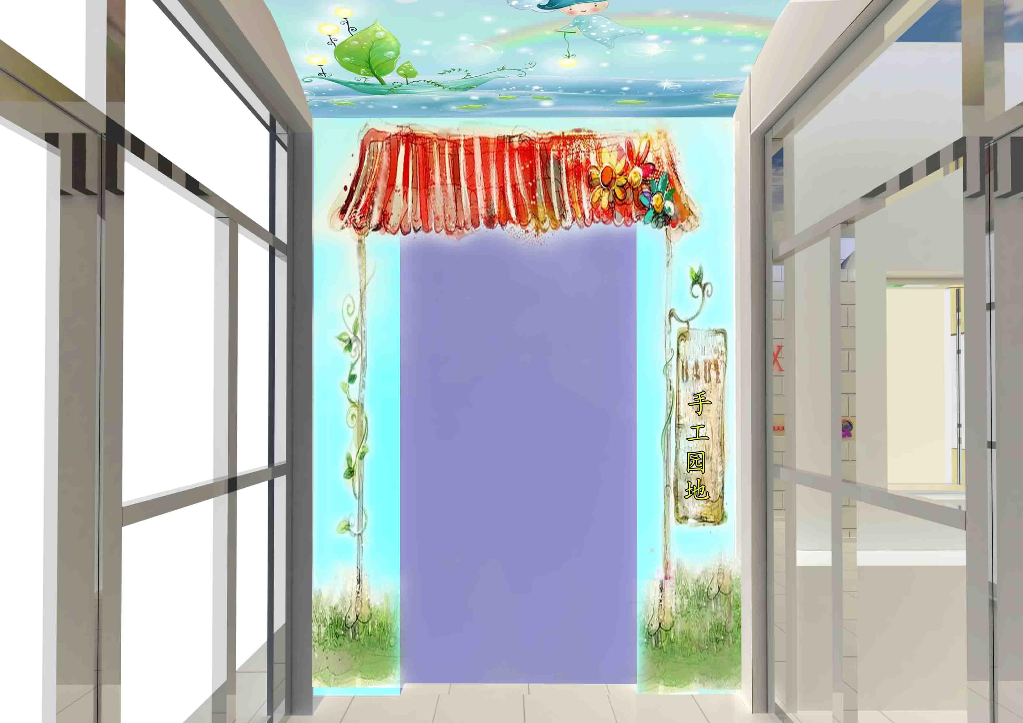 幼儿园门厅设计_1000元_k68威客任务
