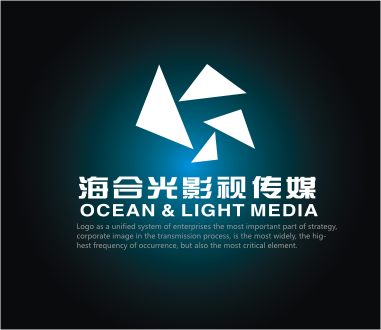 北京海合光影视公司logo/名片设计