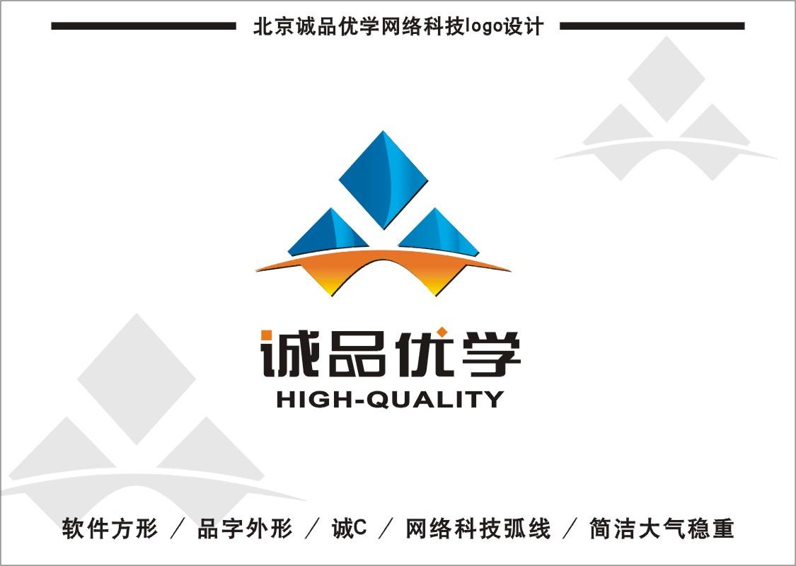 学习软件公司logo/名片设计_2225474_k68威客网