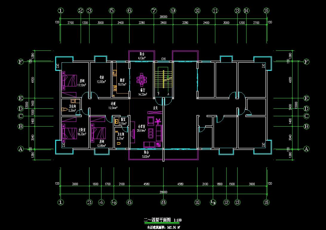 房屋格局设计 房屋设计图图片