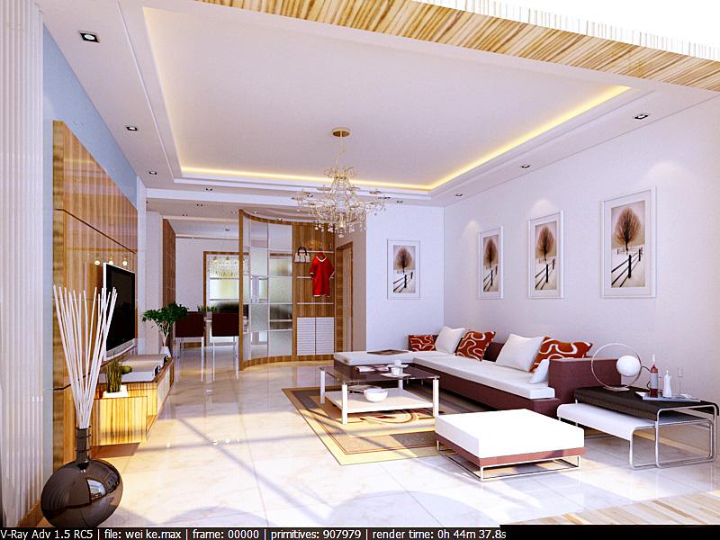 三室兩廳裝修平面設計圖展示