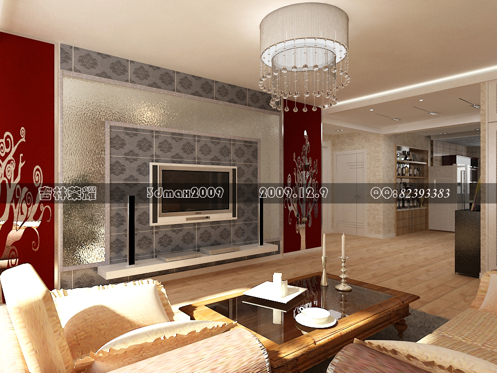 两室两厅装修图效果图设计