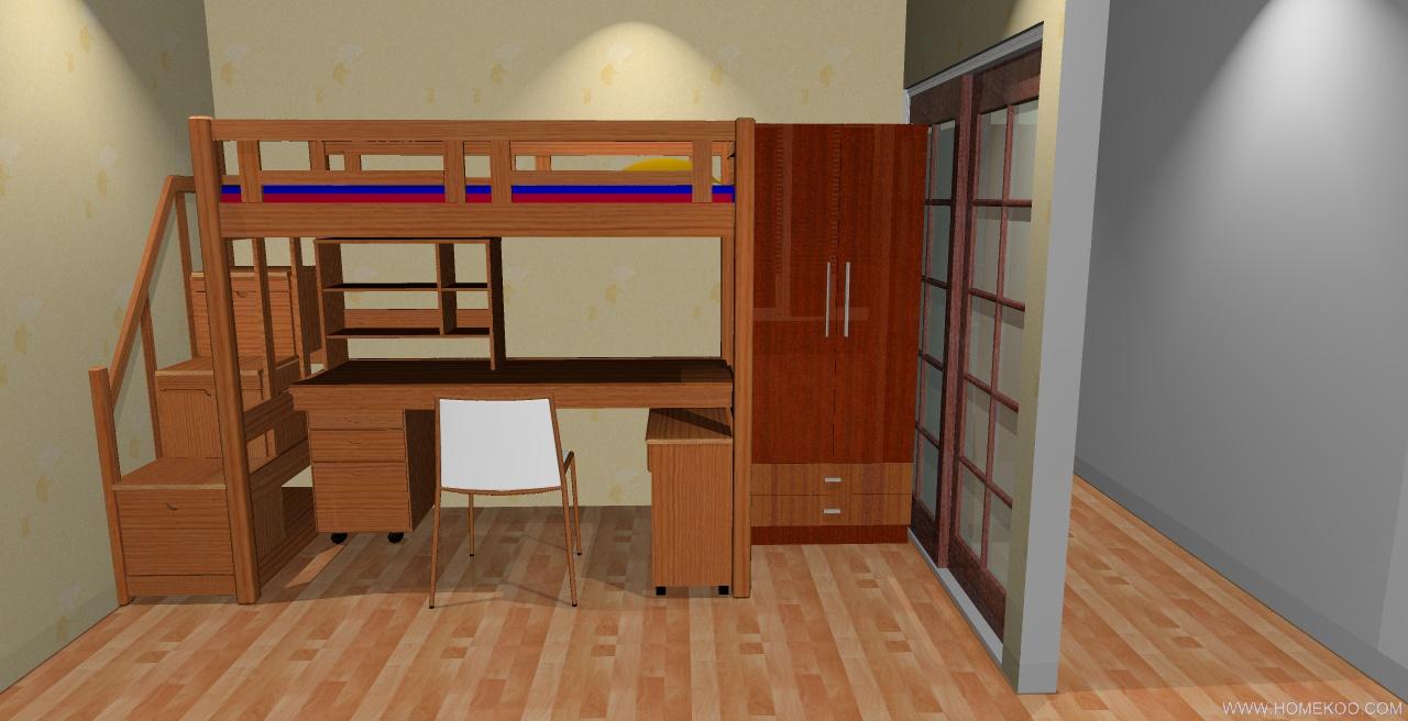 本人的房子已经住了一年多,之前是简单的装修,地面全部铺的是竹地板,由于只有两间卧室,想让孩子独立住,所以想在客厅隔点出来,方便孩子睡觉和学习,强调多功能,尽可能巧妙利用隔离的的空间,外面看起来要美观不别扭,要有一定的采光,适当用好点的新型材料,客厅电视墙要做些加工,现在感觉很单调。总体感觉不到舒适,温馨,餐厅和客厅的墙面可以做些巧妙的加工,可以是贴墙纸和刷彩漆,原墙体最好不要动,望各位设计师发挥出自己的超级灵感,先感谢   20091211163711_02.