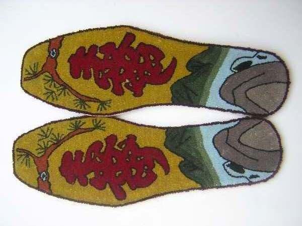 """以""""寿""""字为主题设计鞋垫(中标: 0533123,棒棒糖20,嘎嘎)"""