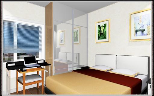 50平米公寓求设计地中海风格装修效果图