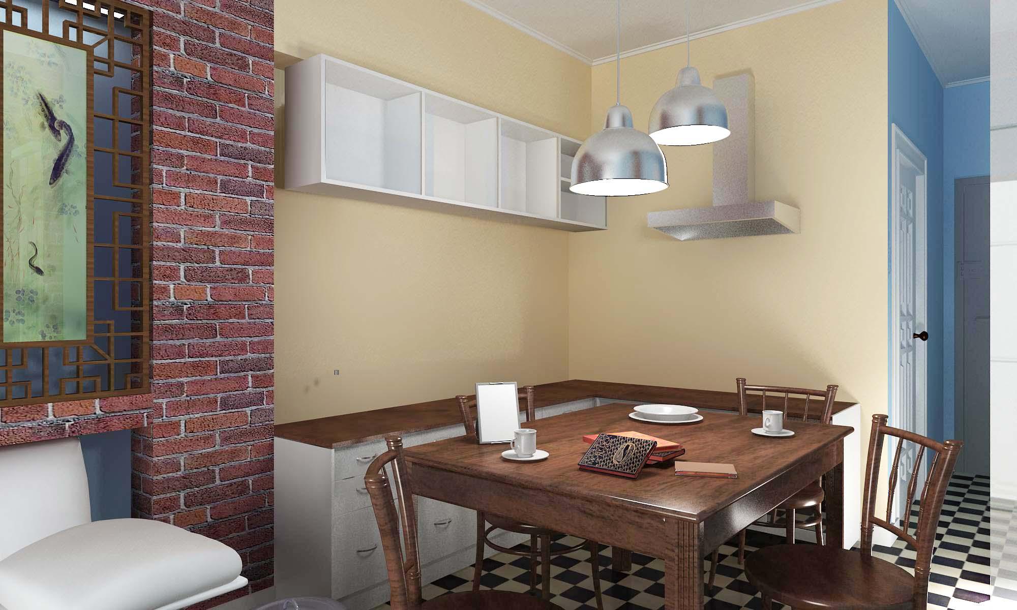 50平米公寓求设计地中海风格装修效果图 50平方米的公寓装修设计效果图(地中海风格)-一定要非常实用的  本人有国外一套50平米左右的度假小公寓需要征集设计图。(2房2卫1厅) 人数: 5个 (父母,姐姐17岁,双胞胎2岁半),由于空间小,所以3个姐妹必须住同间房 风格:由于本人很喜欢地中海式的风格,尤其是蓝白色调的。