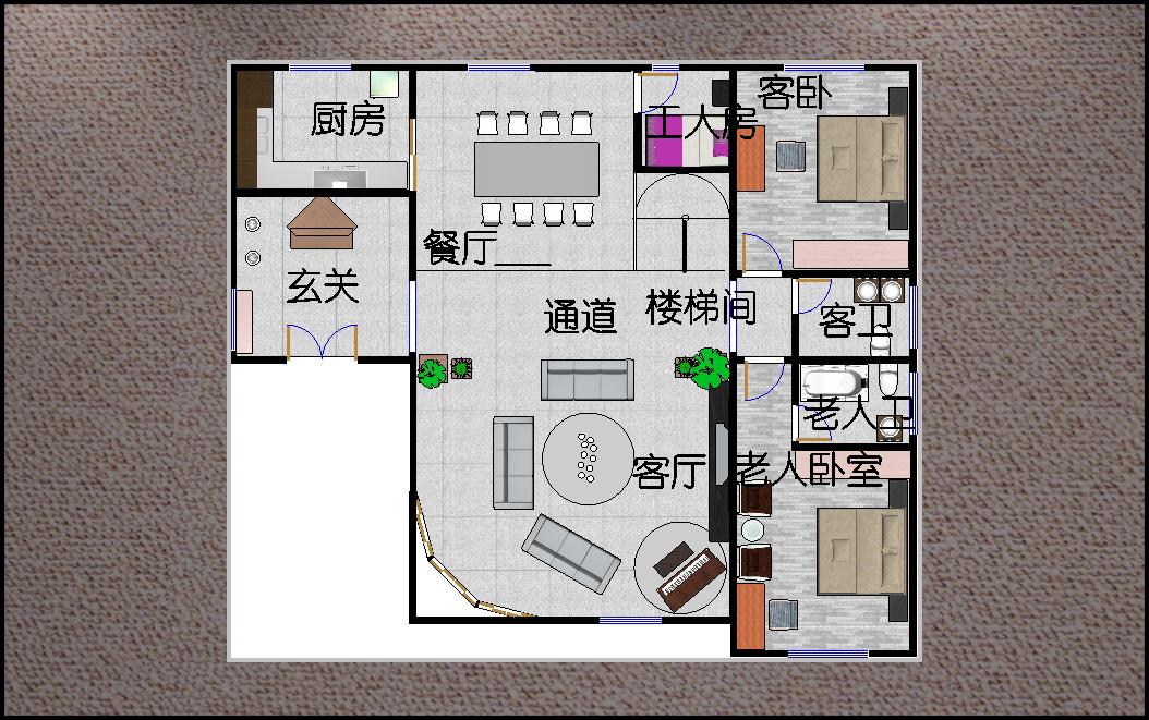 別墅室內裝修設計方案現代簡約時尚大方