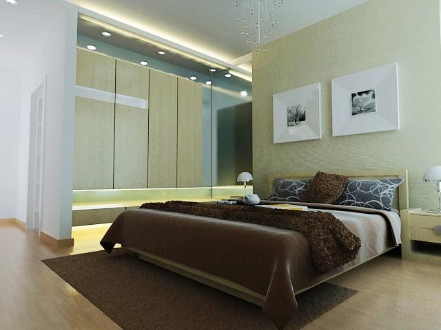 120平米房子装修设计图四室两厅图片