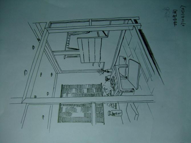 顶楼2层中式 家居设计