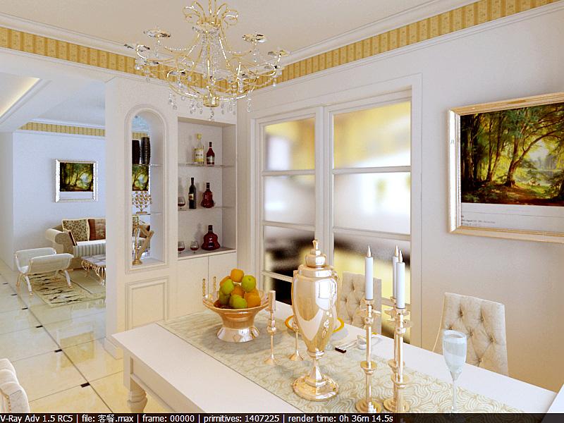 求毛坯房客厅,餐厅装修设计图片