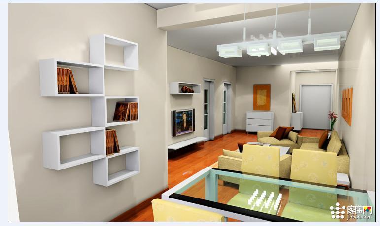 室内装修效果图和施工图