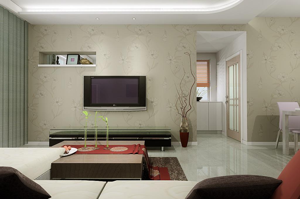 80平米 小户型 装修效果图 设计 两室两厅 800元