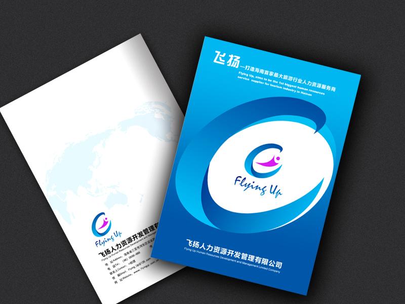 人力资源公司宣传册设计与制作(急7天)