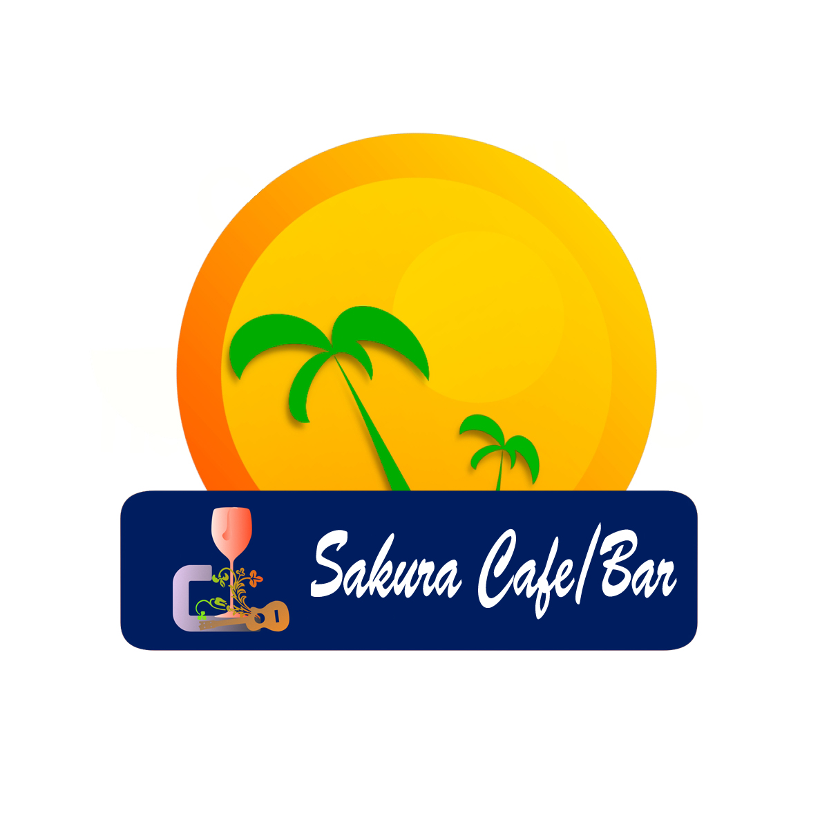 背包客客栈和酒吧logo设计
