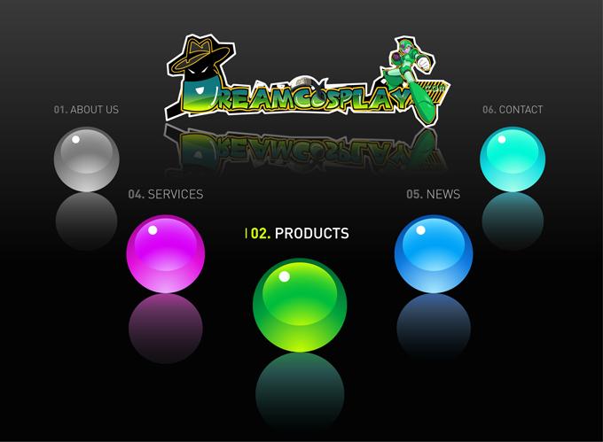 为动漫网站dreamcosplay.com设计logo
