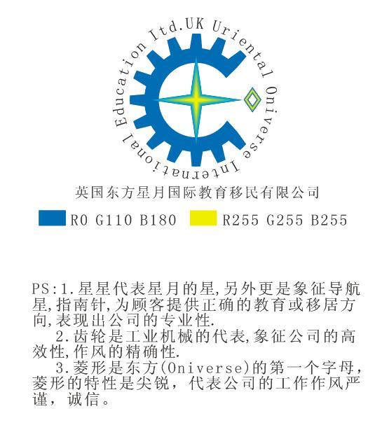 留学移民公司logo设计