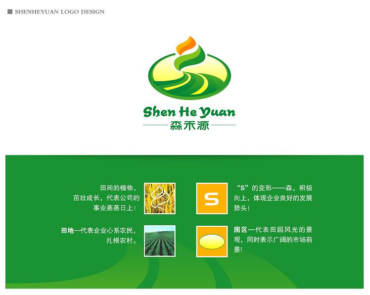 1、 公司及项目背景简介 园区位于北京市朝阳区金盏乡楼梓庄,占地面积1100亩,三面临水(坝河),交通便利(驾车从东五环平房桥走机场第二高速仅需要8分钟)。园区是以农业为题材的新建项目,项目以绿色、环保、自然的田园风光为特色,让客人找到回归自然的感觉,紧张的城市生活得到放松,园区提供的服务将是个性化的,目标客户是中高端客户群。 要强调的是!!:项目建设完成后,将具备农业生产、果品采摘、农事体验、温泉康体、休闲度假、培训教育等功能。 2、 要求 公司名称是北京森禾源农业发展有限公司, LOGO以森禾源为基