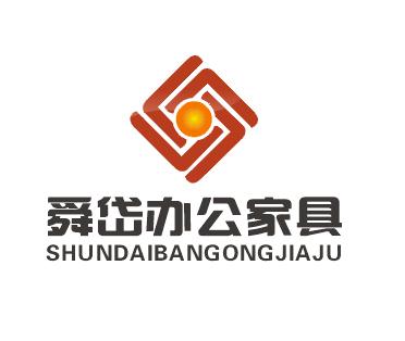 上海舜岱办公家具公司logo名片设计