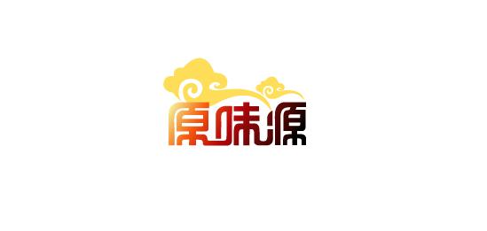 小吃连锁店logo及简单应用设计