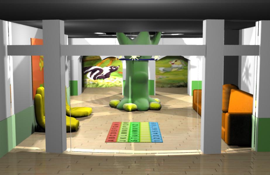 幼儿园门厅设计(附件更新)_1000元_k68威客任务