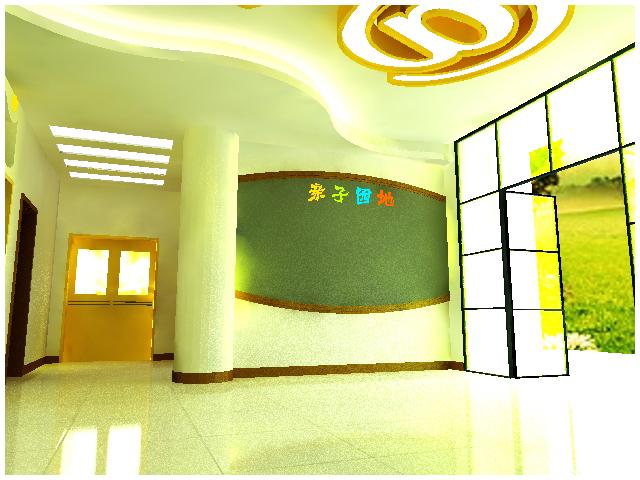幼儿园门厅设计(附件更新)
