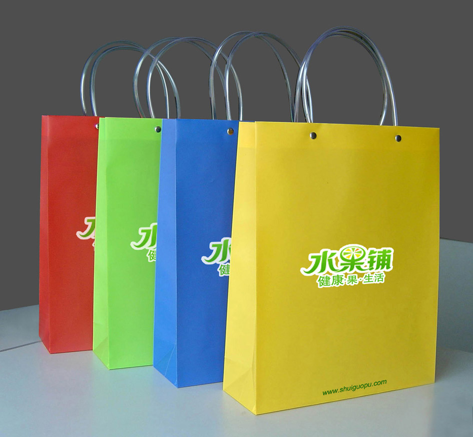 水果铺水果包装箱及手提袋设计