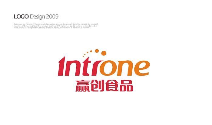 上海赢创食品发展有限公司 logo和名片