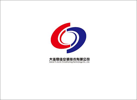 易佳空调技术公司logo,名片 徽标设计
