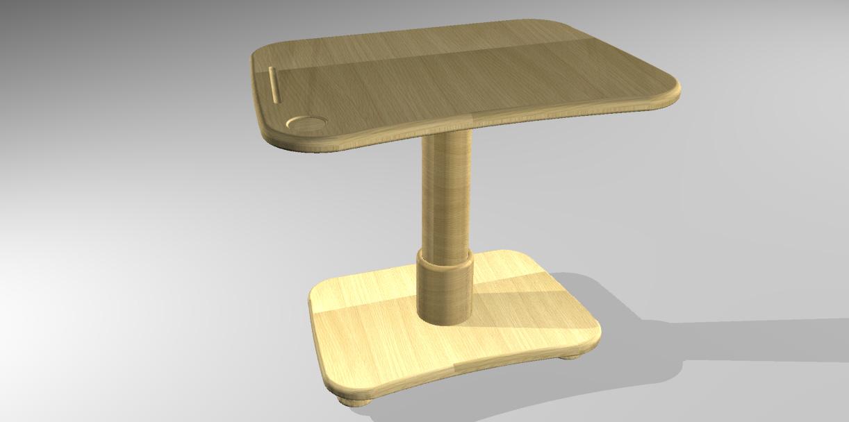 桌子台灯简笔画
