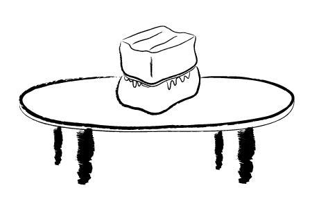 有关豆腐的手绘图片